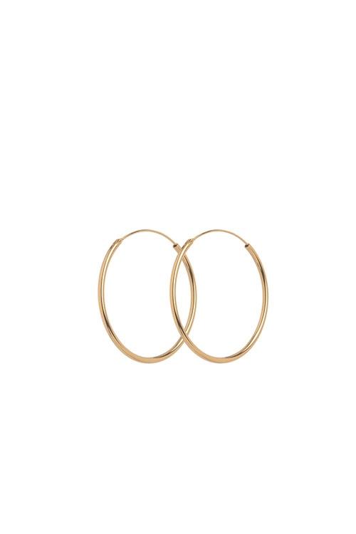 Creole Mini Plain Hoop 20mm GOLD