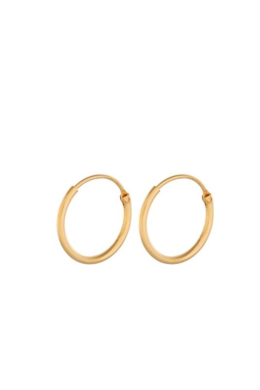 Creole Tiny Plain 13mm GOLD
