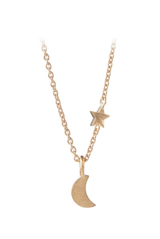 Kette Luna Star GOLD