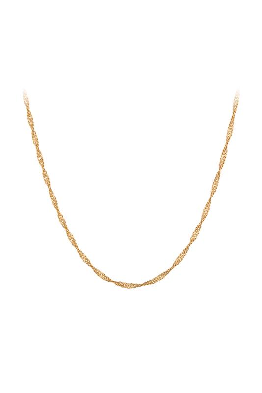 Kette Singapore 42cm GOLD