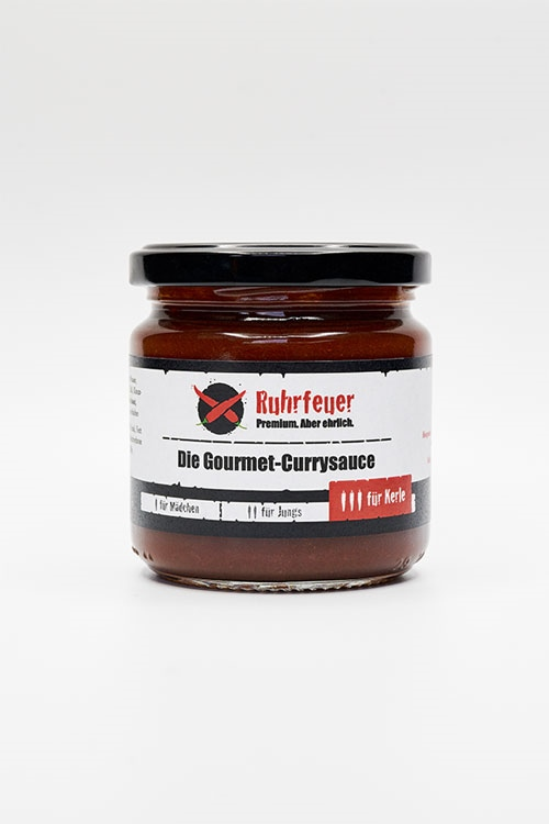 Ruhrfeuer Glas 200g Gourmet-Currysauce