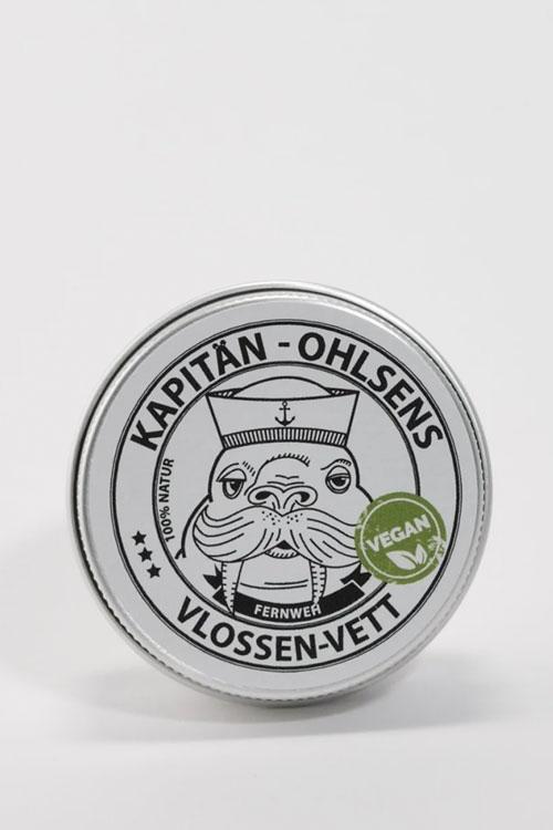 Dose Vlossen-Vett vegan