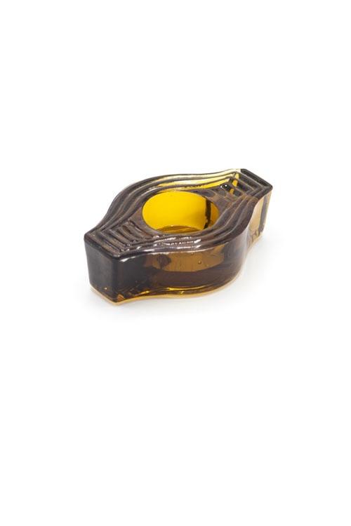 Teelichthalter Infinite Round AMBER