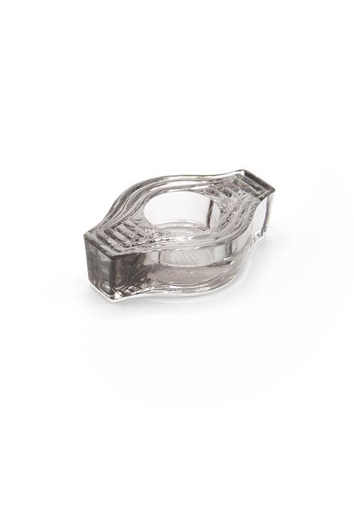 Teelichthalter Infinite Round CLEAR