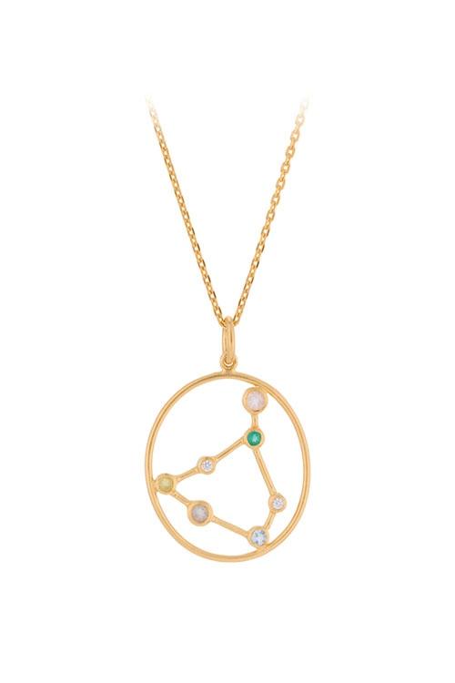 Kette Sternzeichen Capricorn GOLD