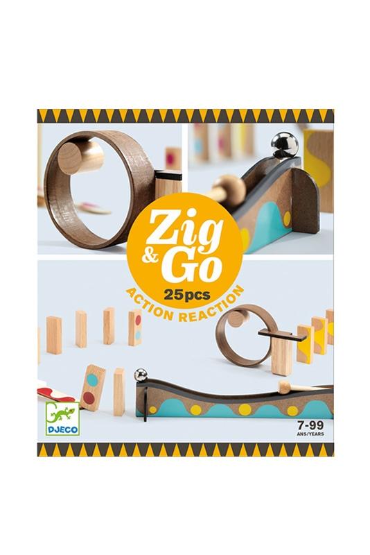 Murmelbahn Zig & Go 25 Teile